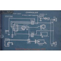 Chandler 6 6volt Schema Electrique 1919 1920