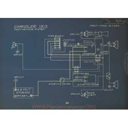Chandler Schema Electrique 1913 Westinghouse