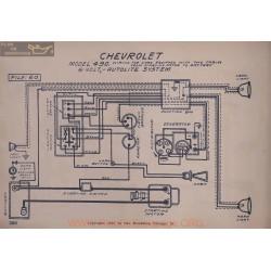 Chevrolet 490 6volt Schema Lectrique Autolite