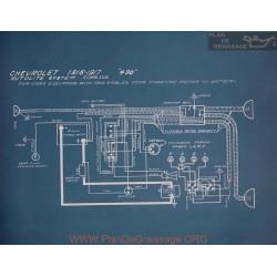 Chevrolet 490 Schema Electrique 1916 1917