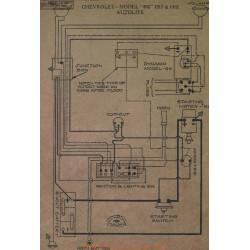 Chevrolet 490 Schema Electrique 1917 1918 Aujolite