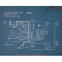 Cleveland 41 Schema Electrique 1922