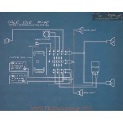 Cole 30 40 Schema Electrique 1912