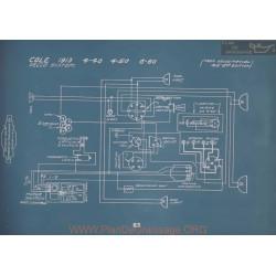 Cole 4 40 4 50 6 60 Schema Electrique 1913 V2