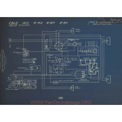 Cole 4 40 50 60 Schema Electrique 1913 Delco