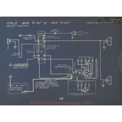 Cole 4 40 6 66 Schema Electrique 1915 1916 Delco