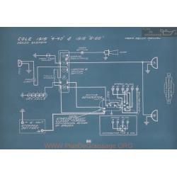 Cole 4 40 6 66 Schema Electrique 1915 1916 V2