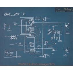 Cole 4 Schema Electrique 1914