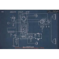 Cole Schema Electrique 1914