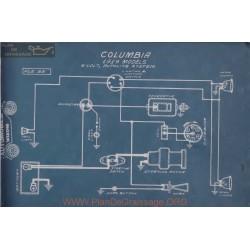 Columbia 6volt Schema Electrique 1919 Autolite