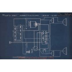 Corbitt Mighigan 16 Volt Schema Electrique 1913 1914