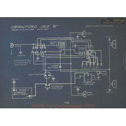 Crawford 6 Schema Electrique 1915 Westinghouse