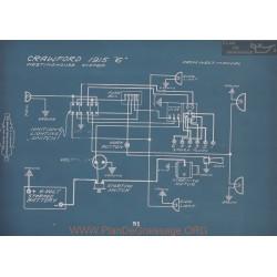 Crawford 6 Schema Electrique 1915