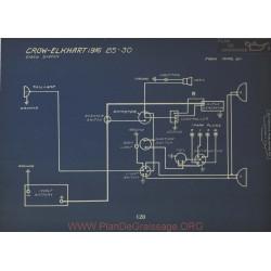 Crow Elkhart 25 30 Schema Electrique 1916 Disco
