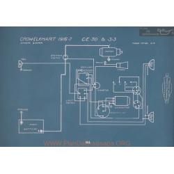 Crow Elkhart Cce30 Ce33 Schema Electrique 1916 1917
