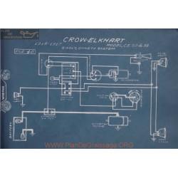 Crow Elkhart Ce 30 33 6volt Schema Electrique 1916 1917 Dyneto