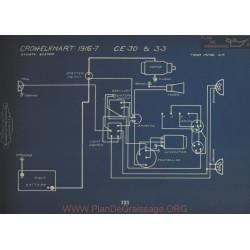 Crow Elkhart Ce30 Ce33 Schema Electrique 1916 1917 Dyneto