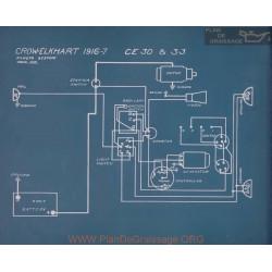 Crow Elkhart Ce30 Ce33 Schema Electrique 1916 1917