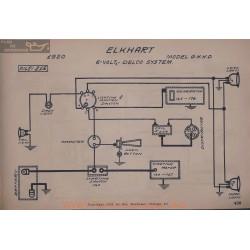 Crow Elkhart G H K D 6volt Schema Electrique 1920 Delco