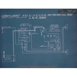 Crow Elkhart K H 32 34 36 42 44 46 Schema Electrique 1917 1918 1919
