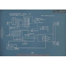 Cunningham 4 Schema Electrique 1916 V2