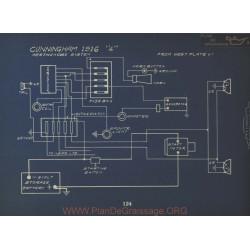 Cunningham 4 Schema Electrique 1916 Westinghouse