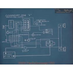Cunningham 4 Schema Electrique 1916