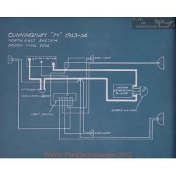 Cunningham M Schema Electrique 1913 1914