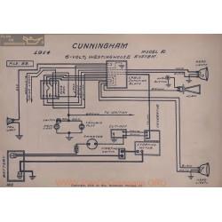 Cunningham R 6volt Schema Electrique 1914 Westinghouse V2