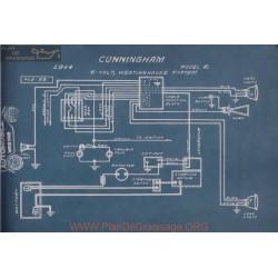 Cunningham R 6volt Schema Electrique 1914 Westinghouse