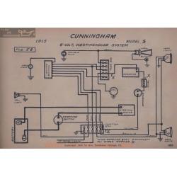 Cunningham S 6volt Schema Electrique 1915 Westinghouse V2