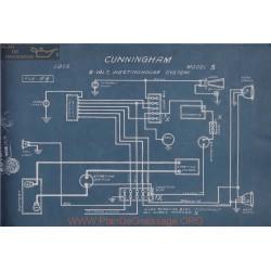 Cunningham S 6volt Schema Electrique 1915 Westinghouse