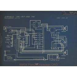 Daniels A8 Schema Electriqeu 1916 1917 1918 Westinghouse