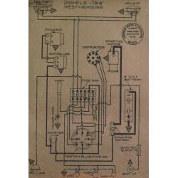 Daniels Schema Electrique 1918 Westinghouse