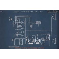Davis 6 38 6e 6g Schema Electrique 1916