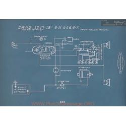 Davis 6h 6i 6k Schema Electrique 1917 1918