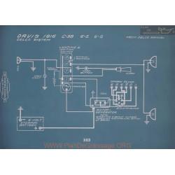 Davis C38 6e 6g Schema Electrique 1916 V2
