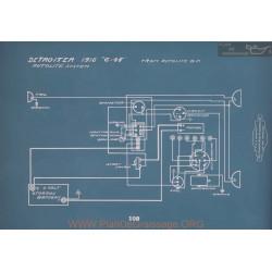 Detroiter 6 45 Schema Electrique 1916 V2