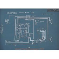 Detroiter 6 45 Schema Electrique 1917 V2