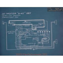 Detroiter 6 45 Schema Electrique 1917