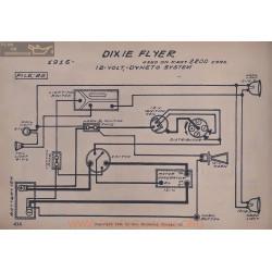 Dixie Flyer 2200 12volt Schema Electrique 1916 Dyneto V2