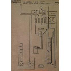 Dixie Flyer 2200 Schema Electrique 1916 1917 Dyneto