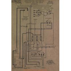 Dixie Flyer 3500 Schema Electrique 1917 1918 1919 Dyneto