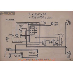 Dixie Flyer 6volt Schema Electrique 1920 Dyneto