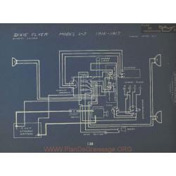 Dixie Flyer L3 Schema Electrique 1916 1917 Dyneto
