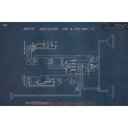 Dixie Flyer L3 Schema Electrique 1916 1917 V3