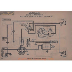 Dodge 12volt Schema Electrique 1921 North East