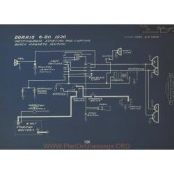 Dorris 6 80 Schema Electrique 1920 Westinghouse