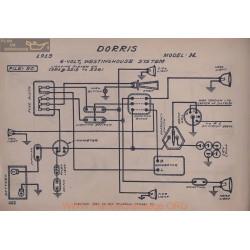 Dorris H 6volt Schema Electrique 1913 Westinghouse V2
