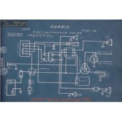 Dorris H 6volt Schema Electrique 1913 Westinghouse